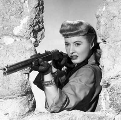 My fave cowgirl? Barbara Stanwyck of Forty Guns and The Furies , a