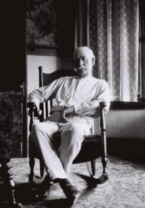 Wyatt Earp, age 79, 1923. Still a badass.