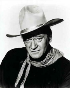 john-wayne-black white