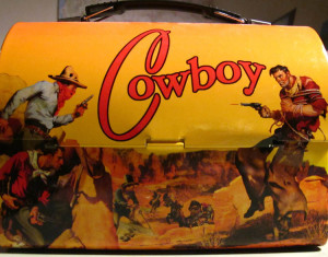 lunchbox cowboy side