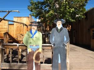 Cowboy cutouts, Kanab, Utah, 2012. (c)es2012