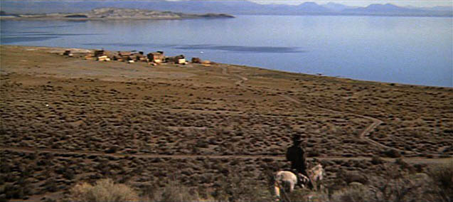 Stranger High Plains Drifter town
